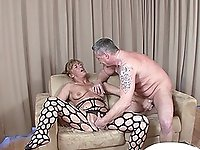 Kinky grannies enjoys the penetration like in the old times