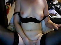 super sexy blond playing on cam 6