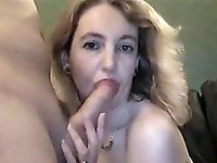 Lucky amateur slut fucked by a big cock in home video