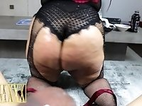 THICK ASS LATINA BABE SUCKS AND RIDES MY BIG BLACK COCK. BREANA KHALO 4K