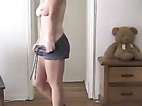 Amazing dancing webcam big breasted brunette MILF will blow your mind