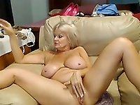 Busty 47 year old slut with big pussy teasing