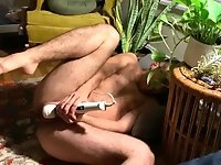 (Teaser) FTM Cums Loud on Hitachi Vibrator