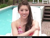 Fantasy masturbation in outdoor by Kana Miyashita - More at javhd.net