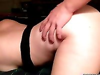 Seductive girlfriend enjoys her boyfriend's dick after party