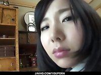 Strong POV home porn for Japanese teen Ayumu Ishihara - More at javhd.net