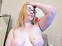 Horny Girlfriend Plays With Dildo On Cam