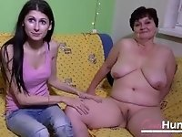 OmaHunteR Horny Mature Brigita Toying Footage