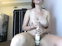 This babe loves throwing middle fingers in the air and she loves camming