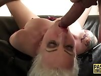 Pounded fetish tat milf
