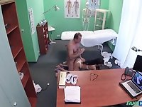Deep sex with the young patient for the horny senior doc