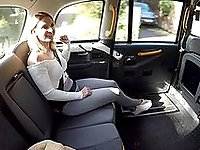Delightful XXX taxi porn with a MILF and the horny guy