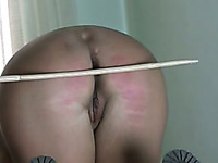 Submissive amateur housewife got spanked hard enough by my friend