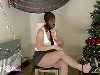 Schoolgirl is Mind Controlled and Nylon Encased