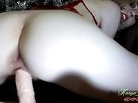 Xmas 2018 - Riding and Cum Play - Toy and Hitachi
