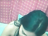 Cute and young Indian girl is not really shy on webcam