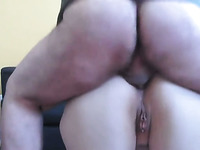 Chubby MILF wanna be fucked brutally in her ass on camera