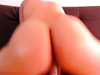 Wild cam hottie with natural tits was so into her quite wild solo masturbation