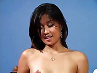 Alluring Asian totally naked webcam babe teased my friend with sensual show