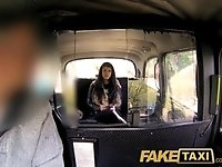 FakeTaxi Her choice is get out and walk or suck his cock